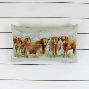 Highland Cattle Cushion - Voyage Maison