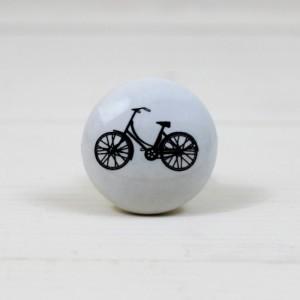 Ceramic Bicycle Drawer Knob