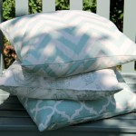 Patterned Aqua/Duck Egg Scatter Cushions