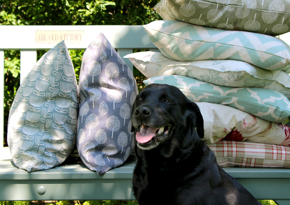 Lily & Moor feather filled cushions!