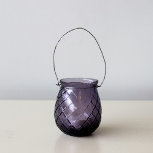 Purple T Light Holder - Home Decor by Lily & Moor