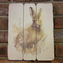 Hare Plaque