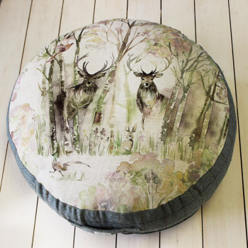 Enchanted Forest Floor Cushion
