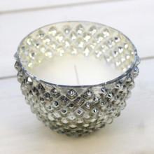 Hobnail Vanilla Pot Candle