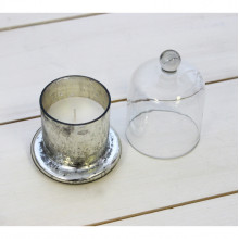 Cloche Vanilla Candle Pot