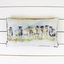 'Come By' Sheep Cushion