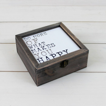 'Do More Of What Makes You Happy' Box