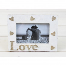 'Love' Wooden Frame