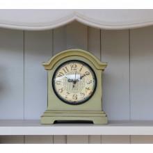 Grey Green Carriage Clock