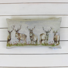 Moorland Stags Cushion