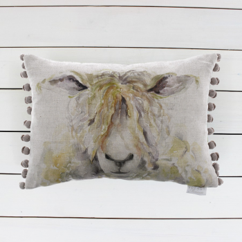 Mr Woolly Cushion