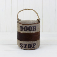 Leather and Rope Doorstop
