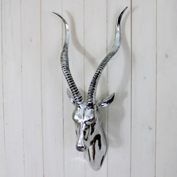 Silver Antelope Head