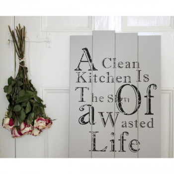 Clean Kitchen Sign