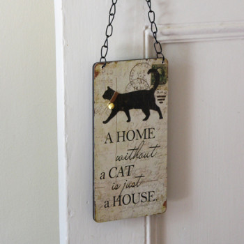 Cat Lovers Sign