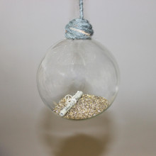 Gold & Scroll Bauble