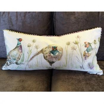 Bowmont  Pheasant Cushion