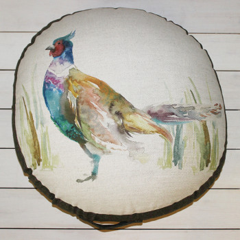 Pheasant Floor Cushion