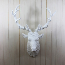 Large White Stag Trophy